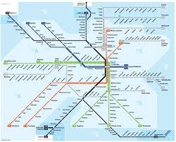 Spårbunden lokaltrafik-karta
